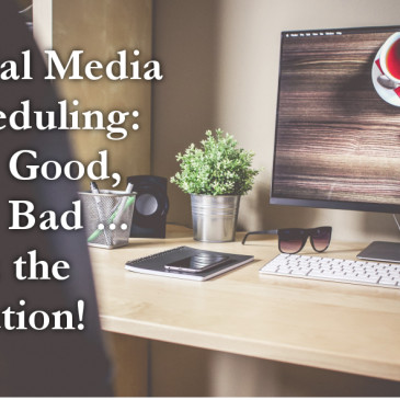 Social media scheduling: the good, the bad and the solution