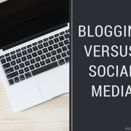 Blogging vs Social Media: what's the best choice?
