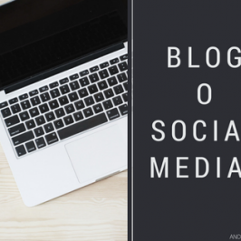 Meglio avere un blog o usare i social network?