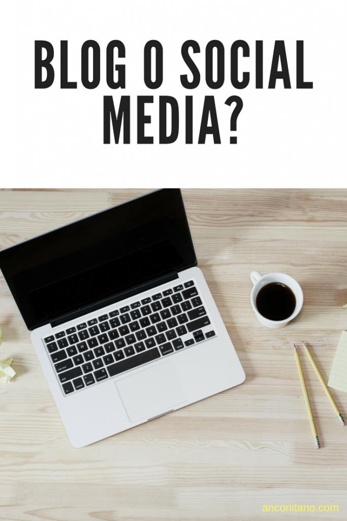 Blog o social media