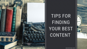 Tips for finding content